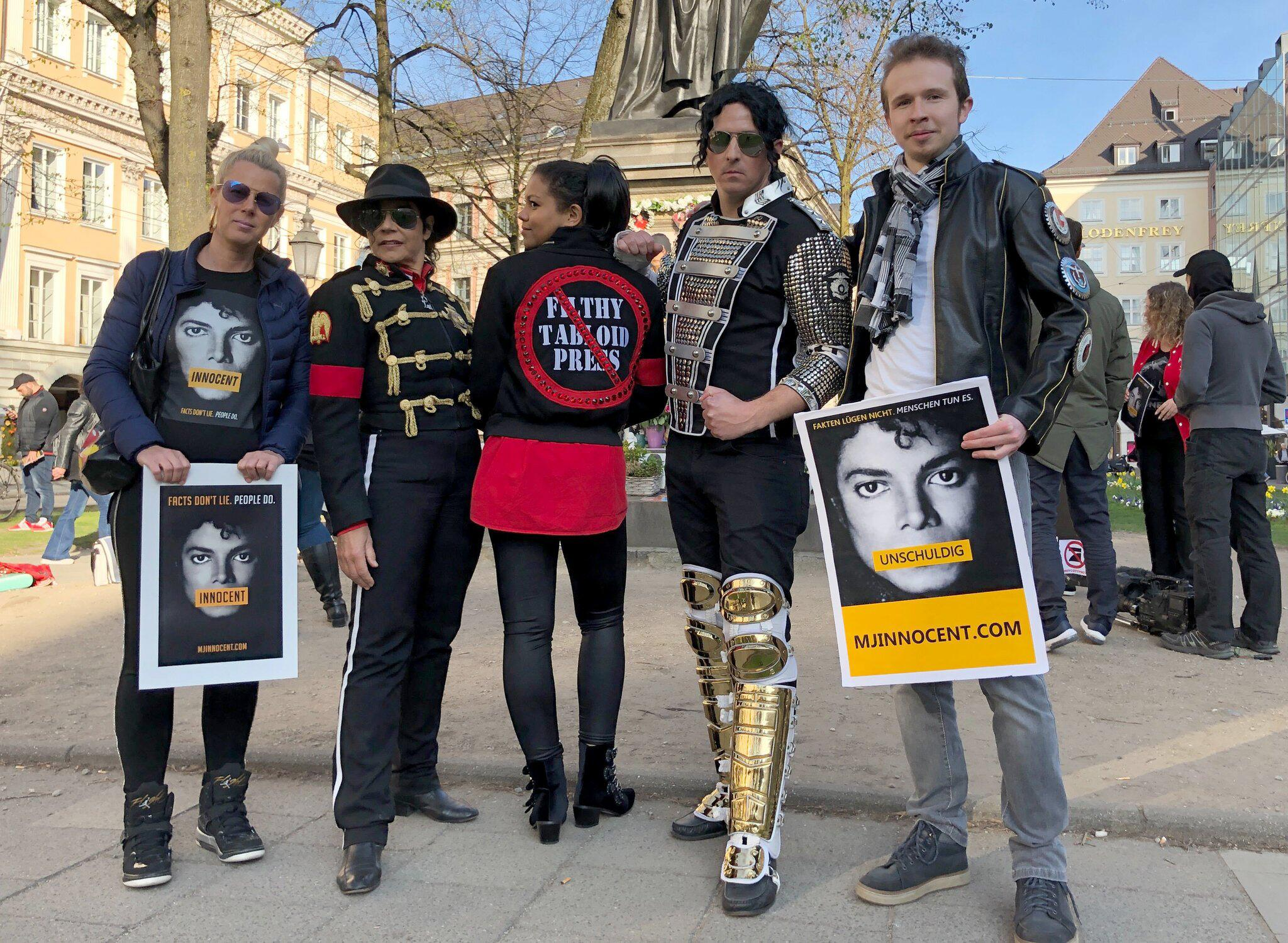 "Bild zu Protest gegen Michael-Jackson-Doku ""Leaving Neverland"""