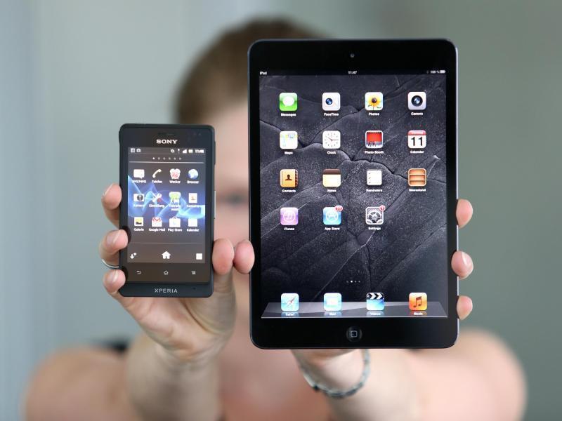 Bild zu Smartphone und Tablet