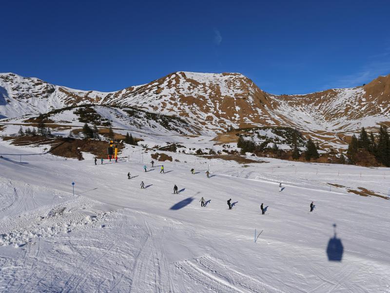 Bild zu Verschneite Skigebiete