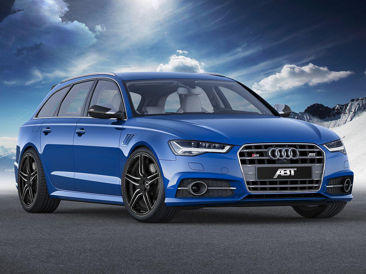 Bild zu Audi S6 von Abt
