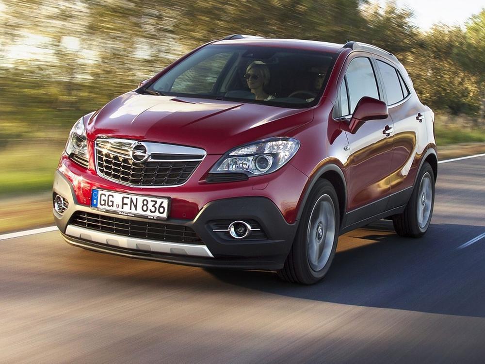 Bild zu Platz 2: Opel Mokka