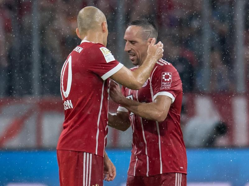 Bild zu Franck Ribéry und Arjen Robben