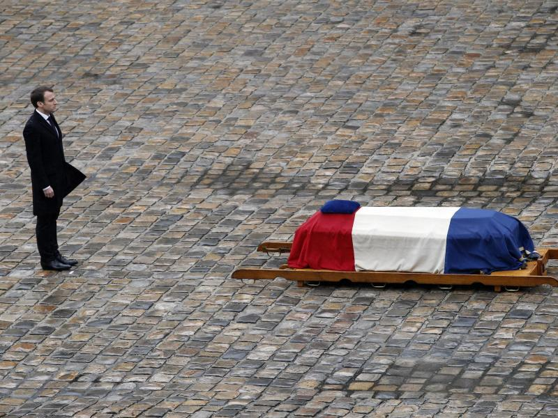 Bild zu Gedenkfeier für getöteten Polizisten
