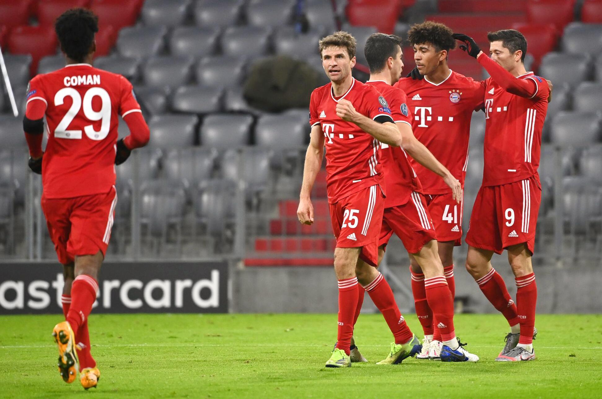 Bild zu FC Bayern München - RB Salzburg