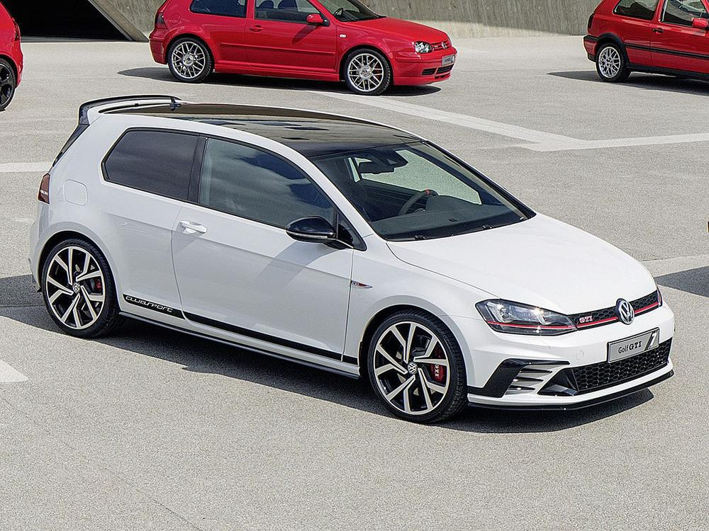 vw golf gti clubsport s mit ber 300 ps der st rkste gti aller zeiten web de. Black Bedroom Furniture Sets. Home Design Ideas