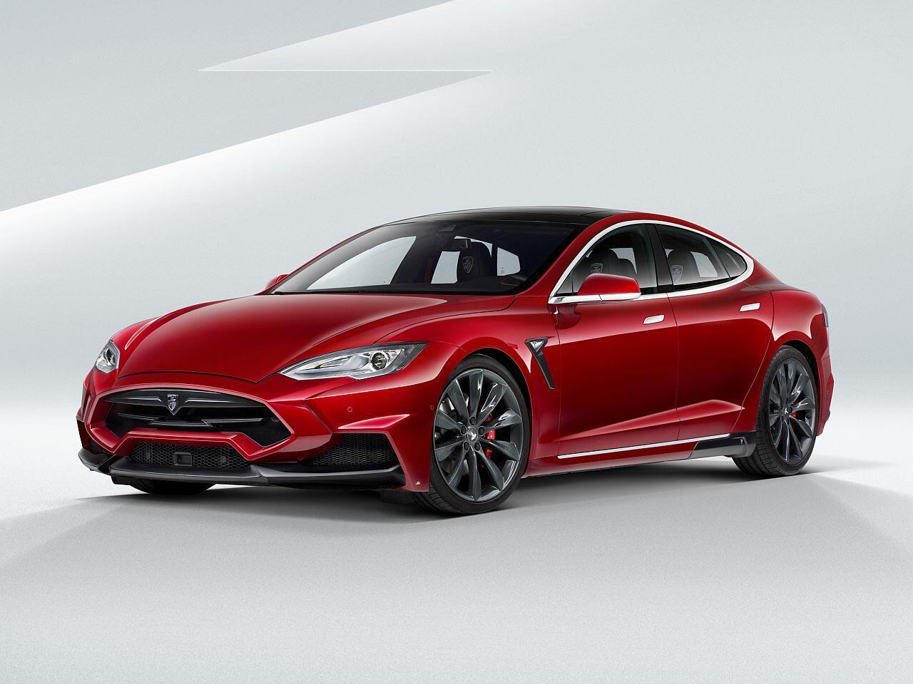 Bild zu Tesla Model S von Larte Design