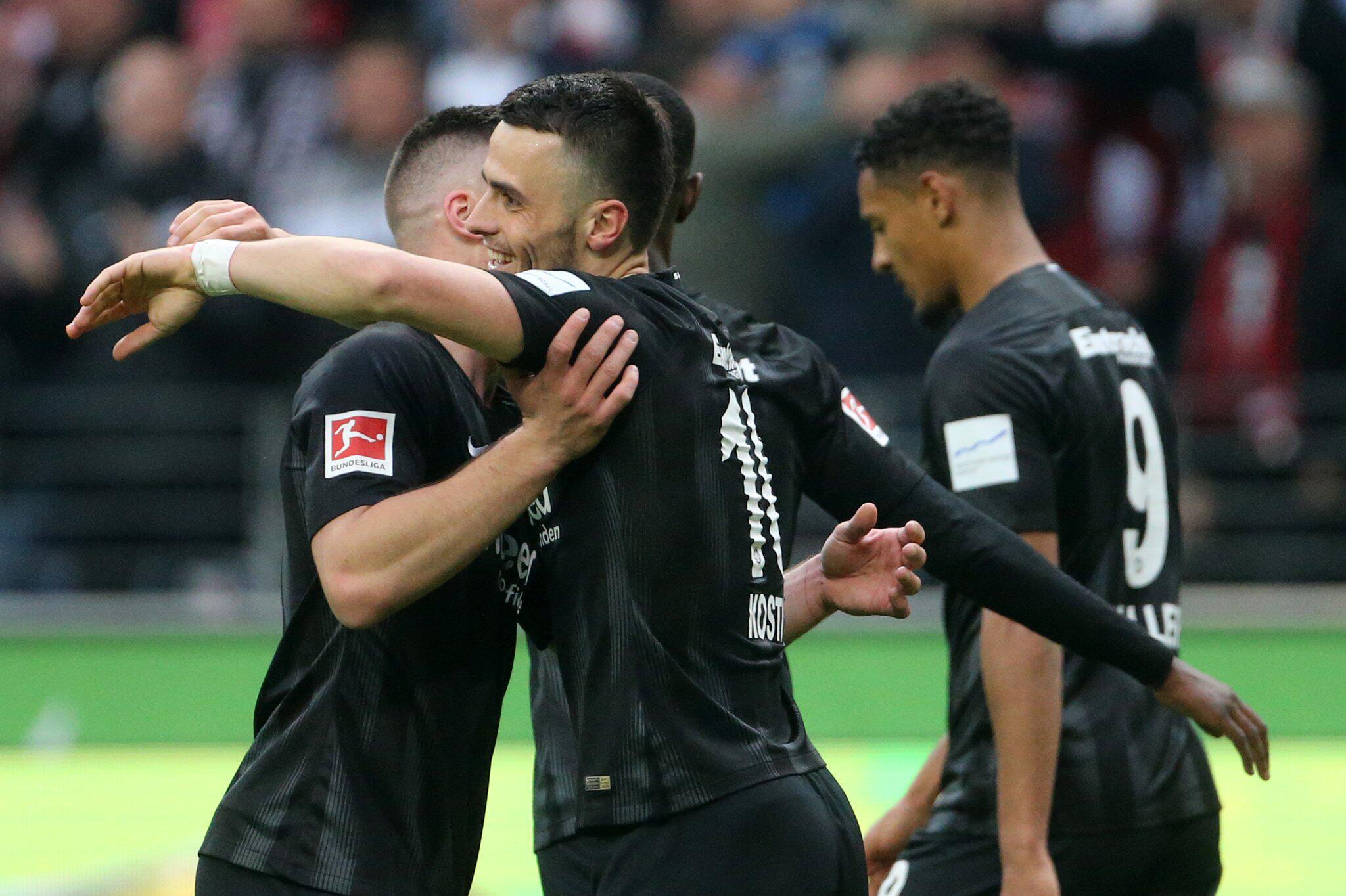 Bild zu Eintracht Frankfurt - VfB Stuttgart