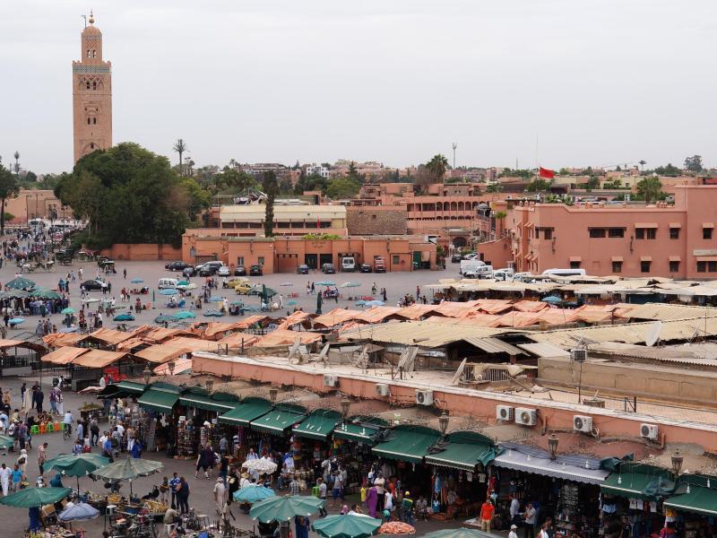 Bild zu Nonstop-Flug nach Marrakesch im Winter