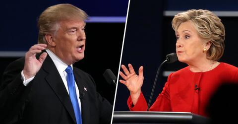 Donald Trump, Hillary Clinton, US-Wahl, Twitter