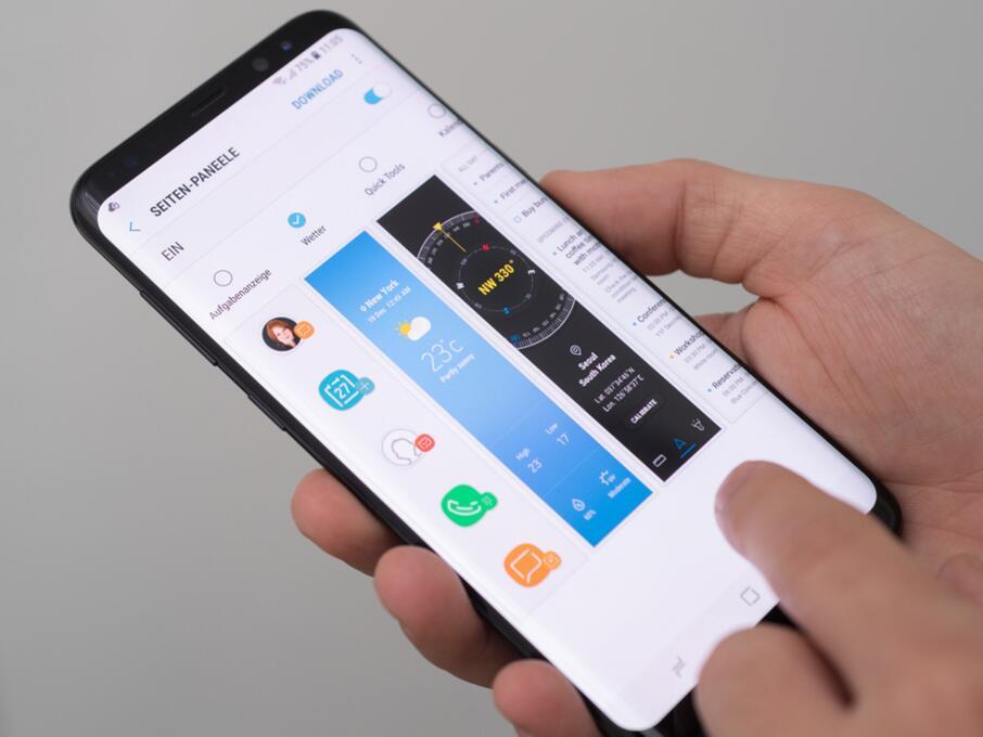 Das Samsung Galaxy S8 – der XXL-Player unter den Smartphones