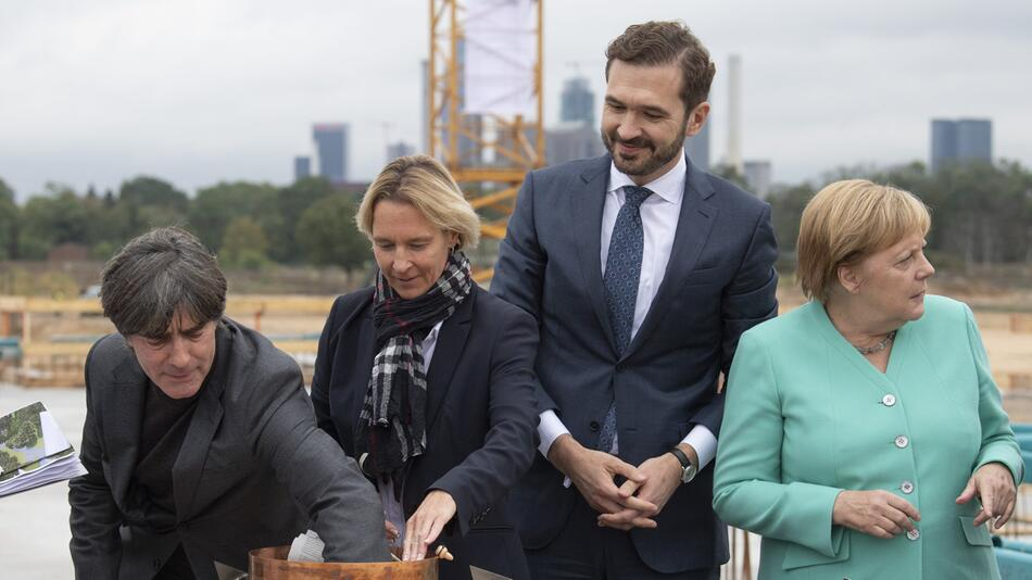 Foundation stone laid for new DFB Academy