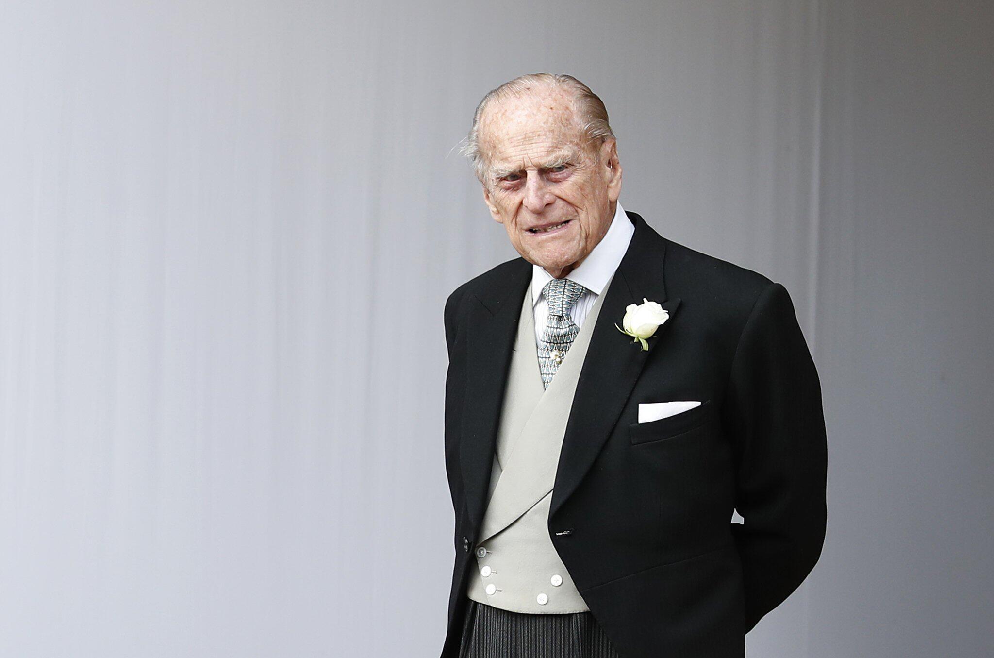 Bild zu Britischer Prinz Philip im Krankenhaus