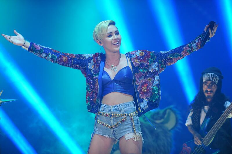 Sängerin Miley Cyrus