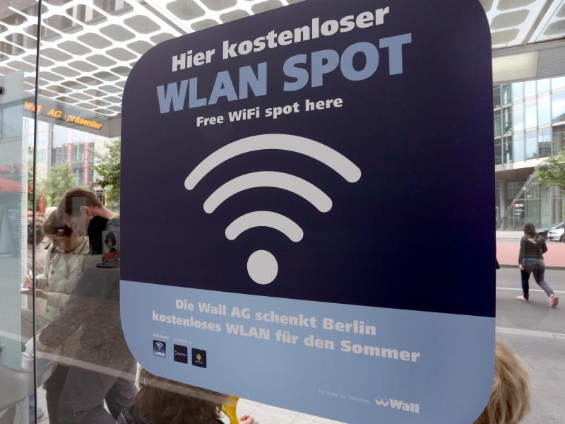 Bild zu Kostenloses WLAN in Berlin
