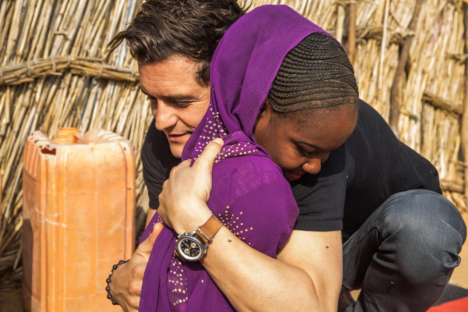 Bild zu Orlando Bloom, UNICEF, Niger