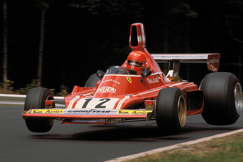 Bild zu Niki Lauda, Ferrari, Formel 1