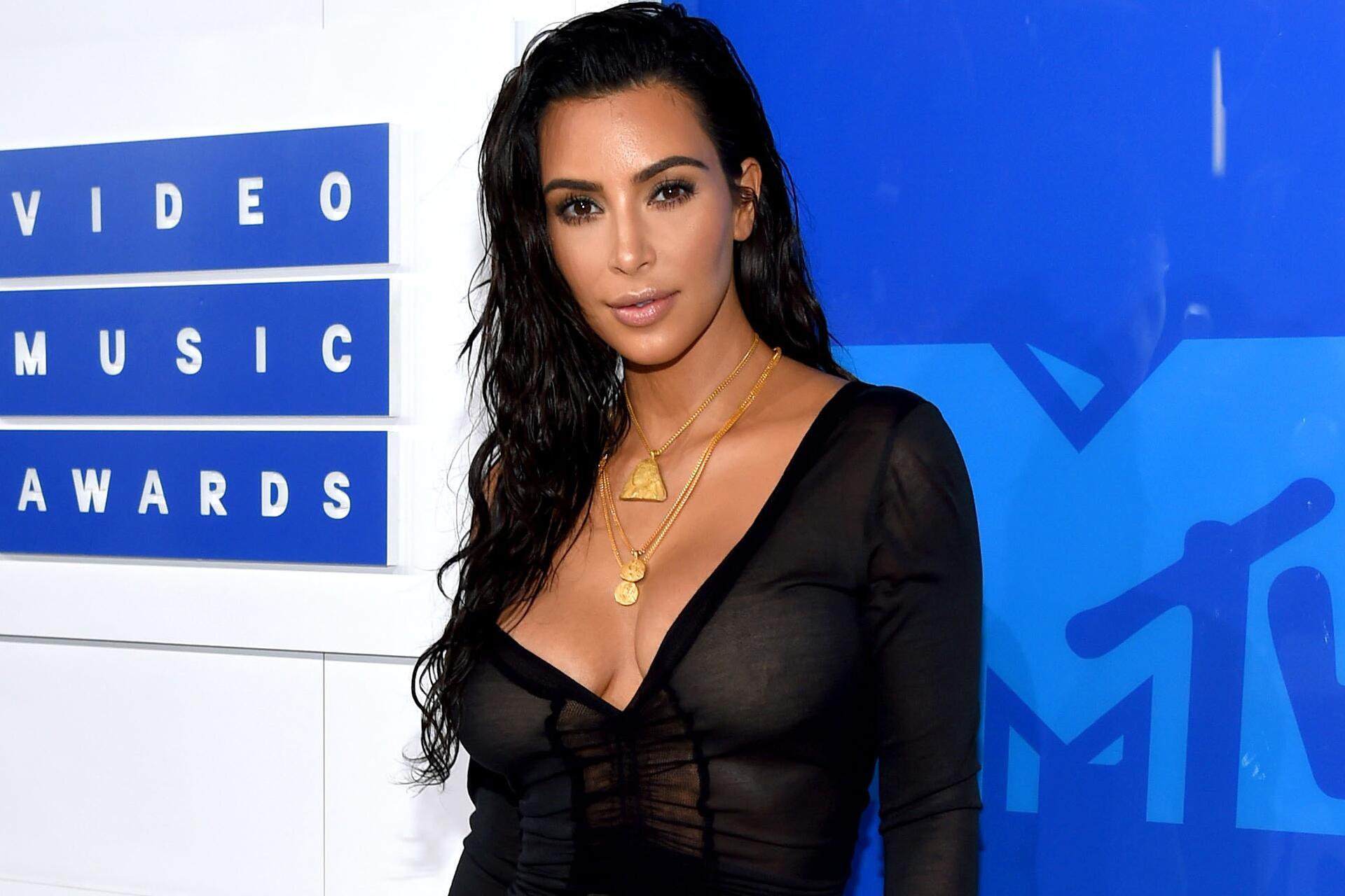 Bild zu Kim Kardashian, VMAs, New York