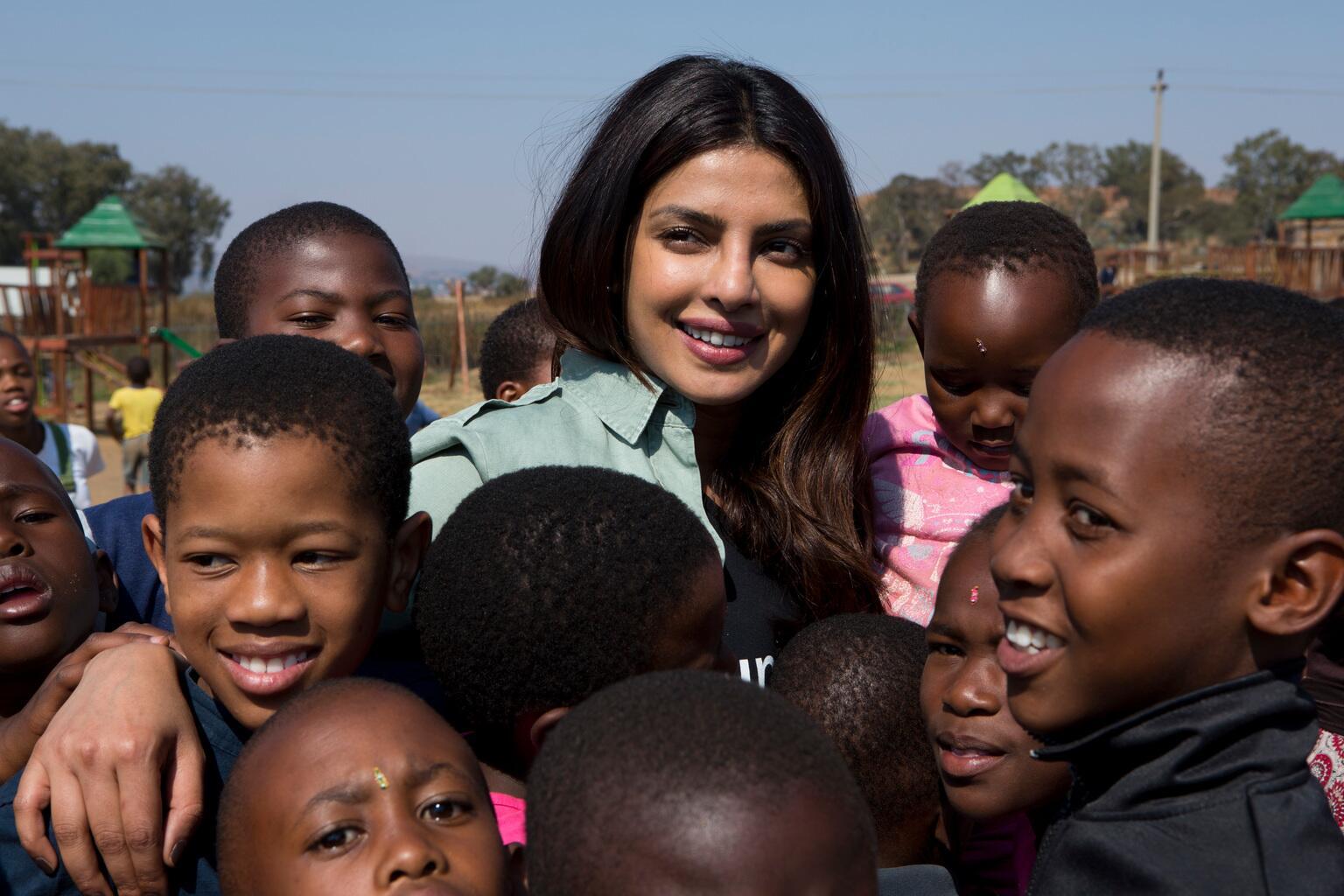 Bild zu Priyanka Chopra, UNICEF, Südafrika
