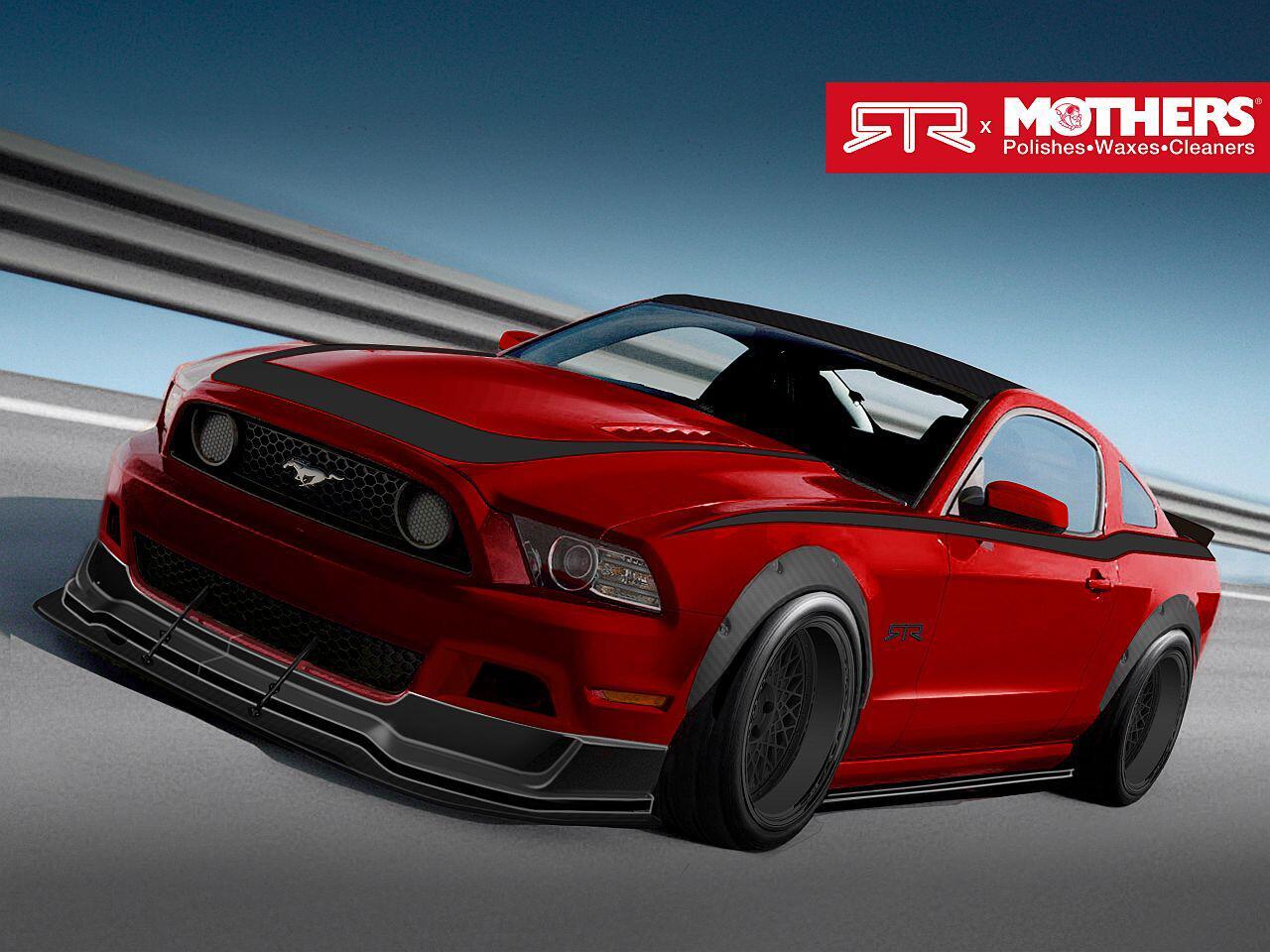 Bild zu Noch ein Traum-Mustang: Das Leistungsmonster von Mothers und RTR