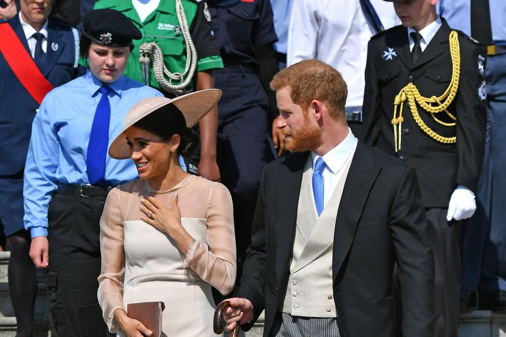 Harry und Meghan auf Gartenparty im Buckingham-Palast | WEB.DE