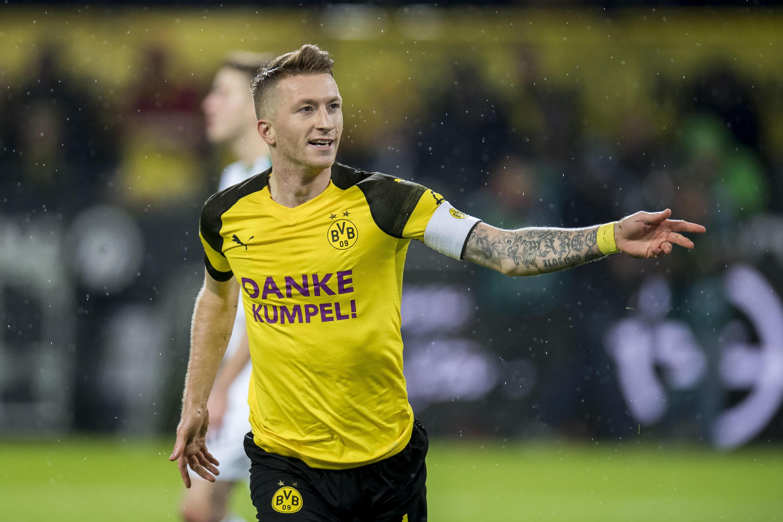 Bild zu Reus, Dortmund, BVB, Bundesliga, Fußball