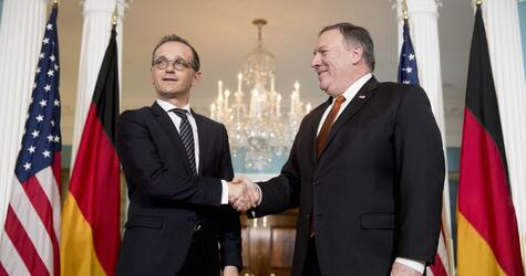 Heiko Maas, Mike Pompeo, Washington, Außenminister, Antrittsbesuch, USA