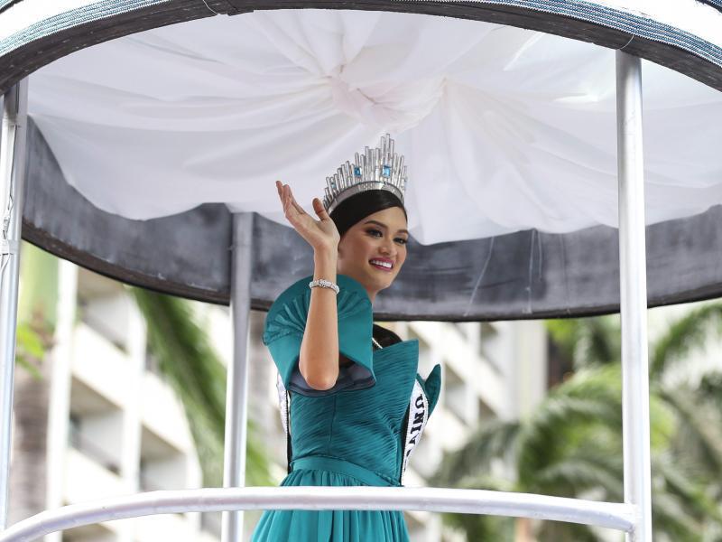Bild zu Miss Universe Pia Wurtzbach