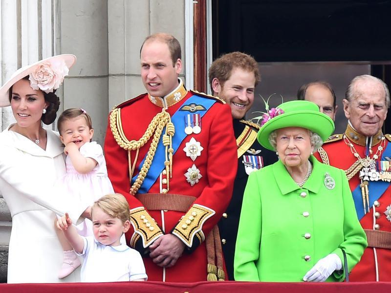Bild zu Die britische Königsfamilie