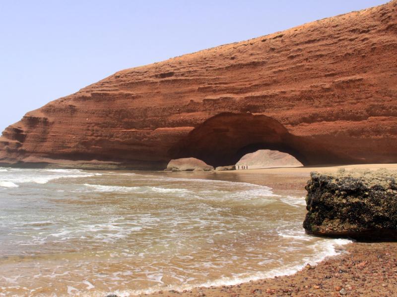 Bild zu Strand von Legzira