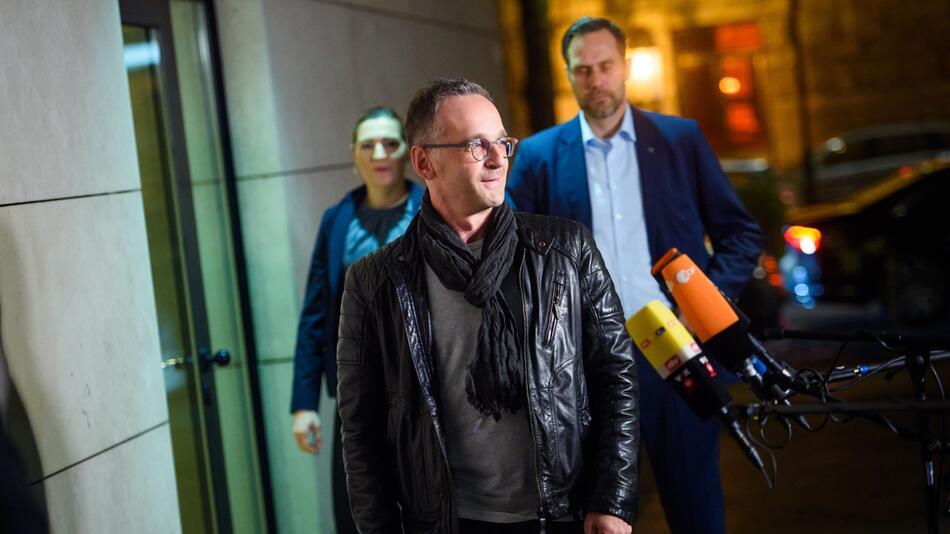 SPD retreat, Heiko Maas