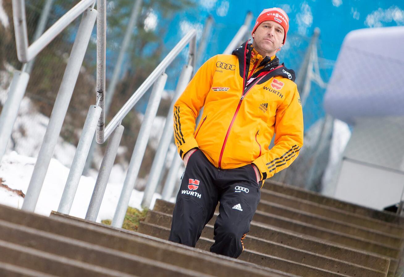 Bild zu Werner Schuster, Innsbruck, Bergisel, Vierschanzentournee, Skispringen, Bundestrainer, DSV
