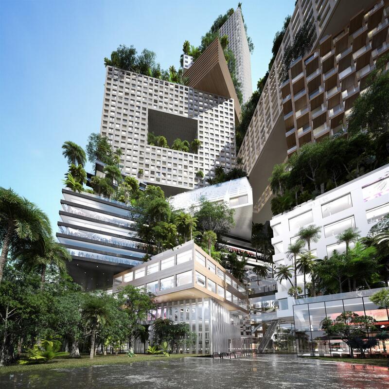 Bild zu Luxushotel im 400 Meter hohen Turm