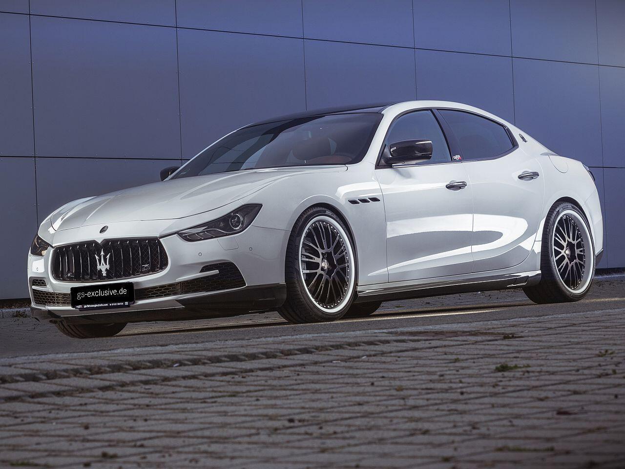 Bild zu Maserati Ghibli Evo