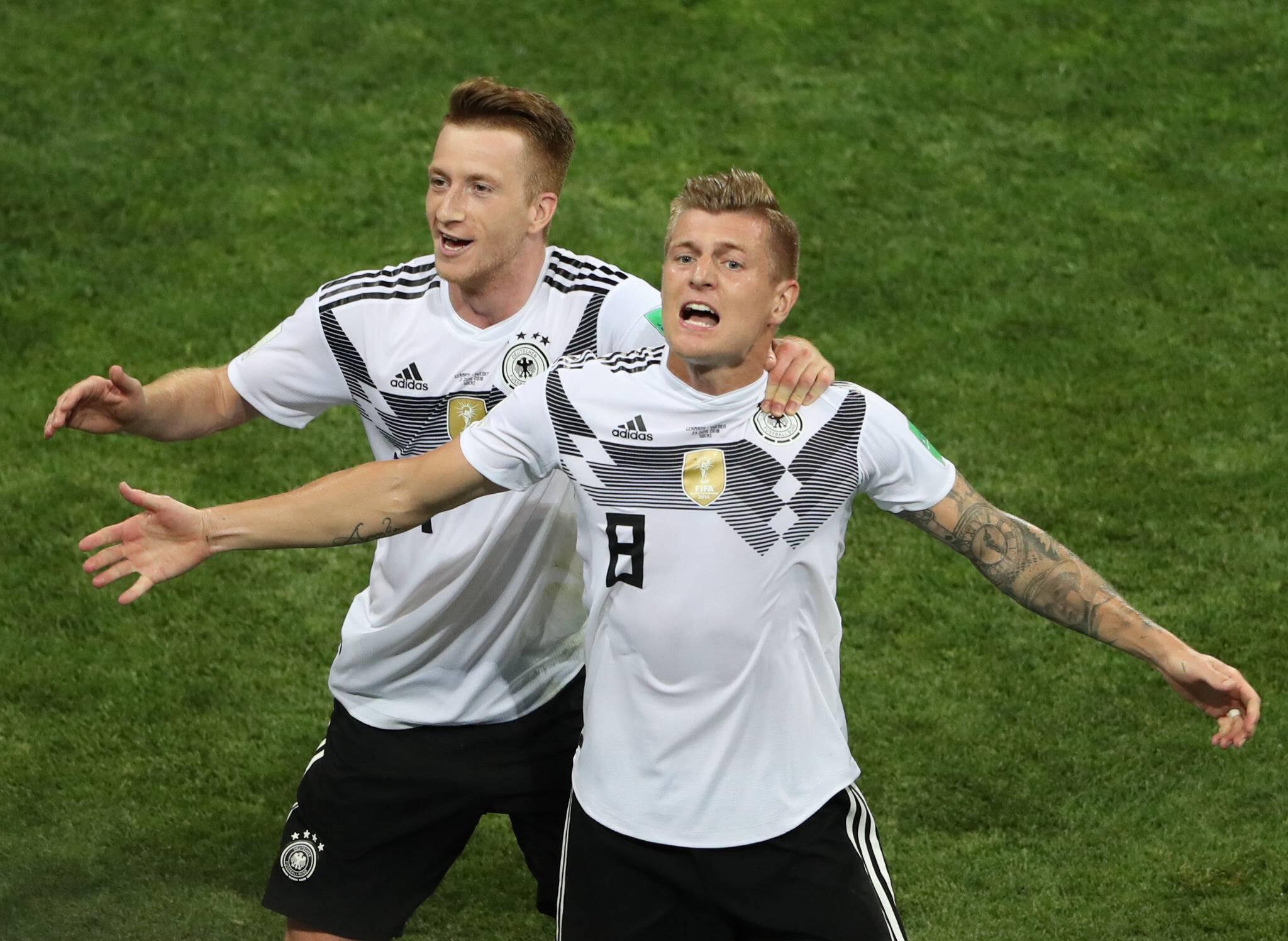 Bild zu Toni Kroos, WM 2018, Weltmeisterschaft, DFB Team, die Mannschaft