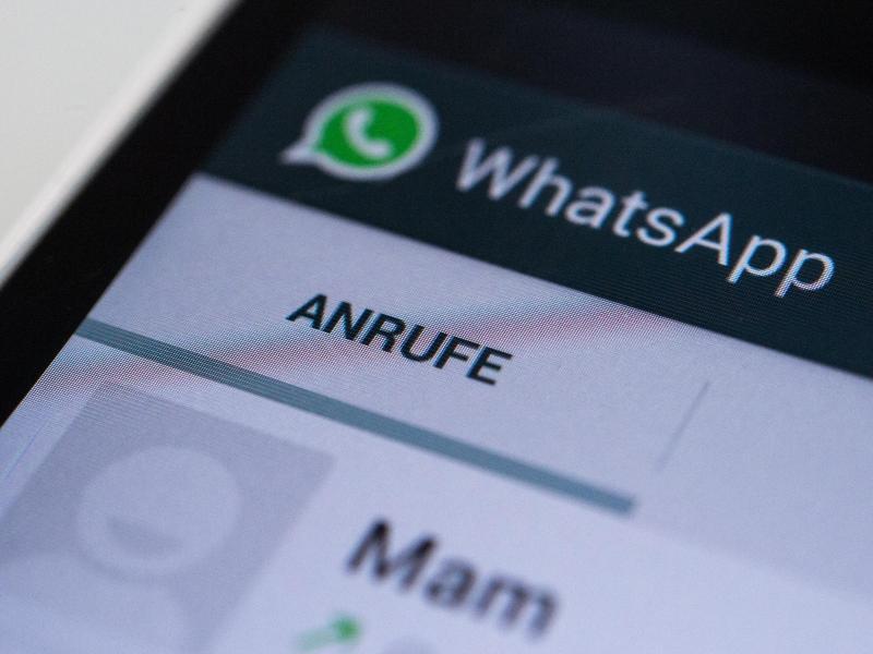 Bild zu Telefonieren mit WhatsApp