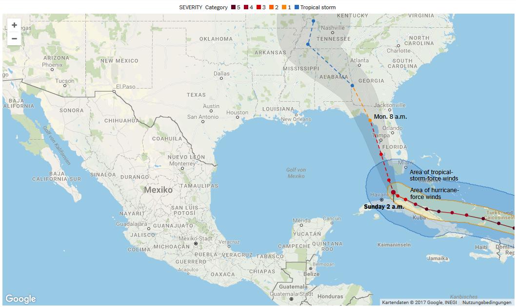 Bild zu Hurrika, Irma, Hurrikan Irma, Florida