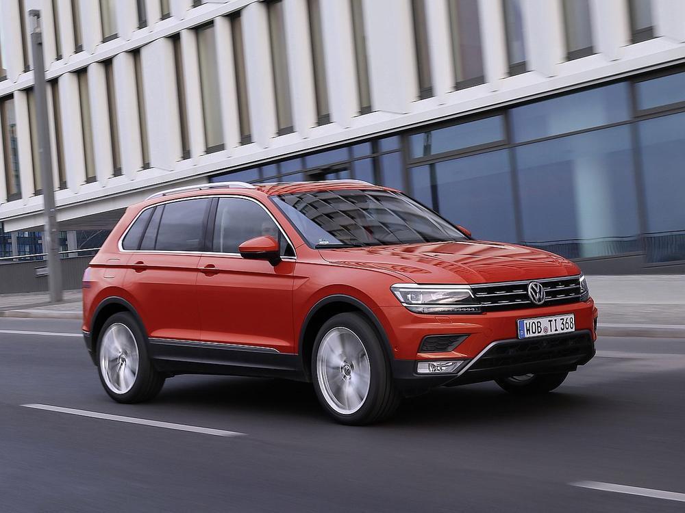 Bild zu Platz 1 Geländewagen: VW Tiguan