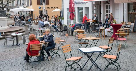 Außengastronomie in Saarbrücken
