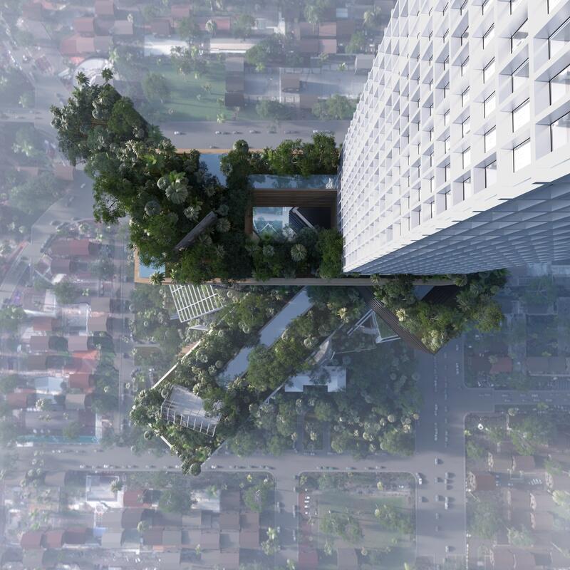 Bild zu Eine Mini-Stadt als Zukunft der Architektur?