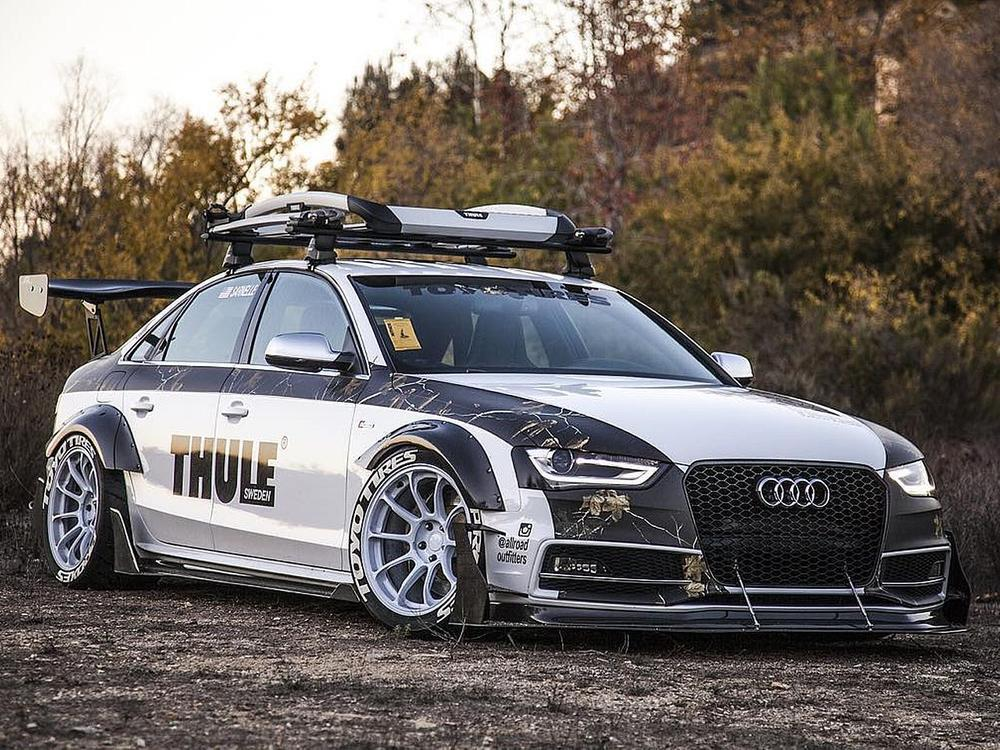 Bild zu Allroad Outfitters Audi S4 Carbon Widebody