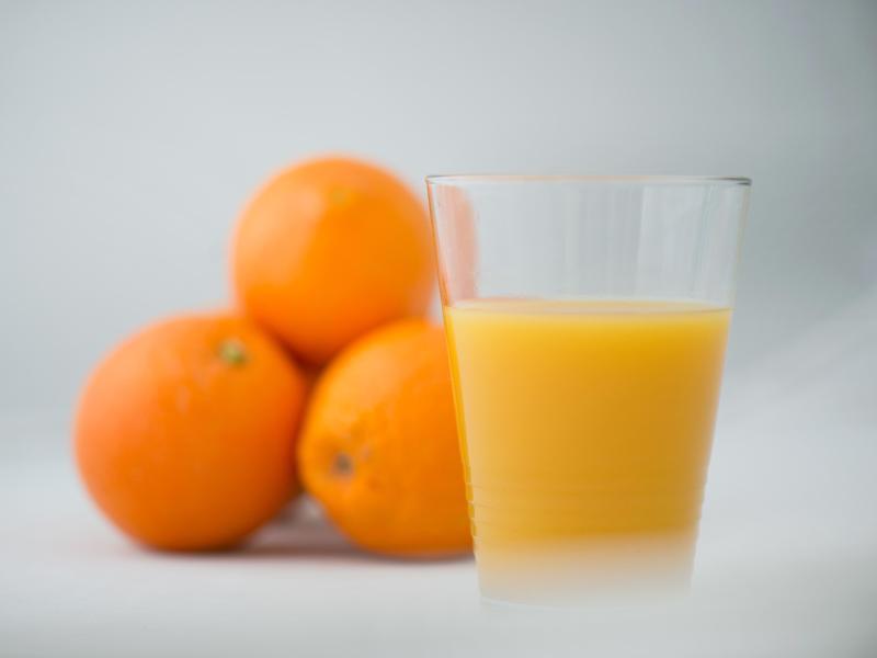 Bild zu Orangen - Orangensaft