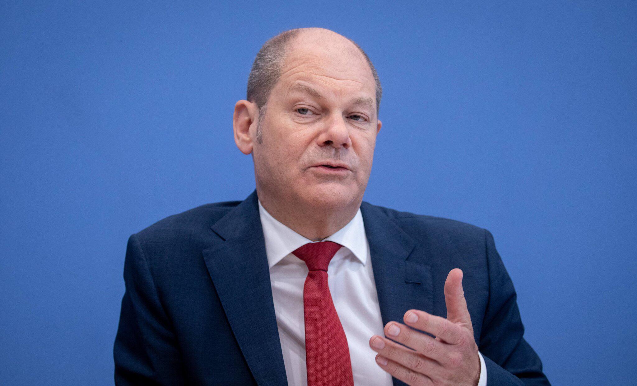 Bild zu Olaf Scholz zu Euro-Zone