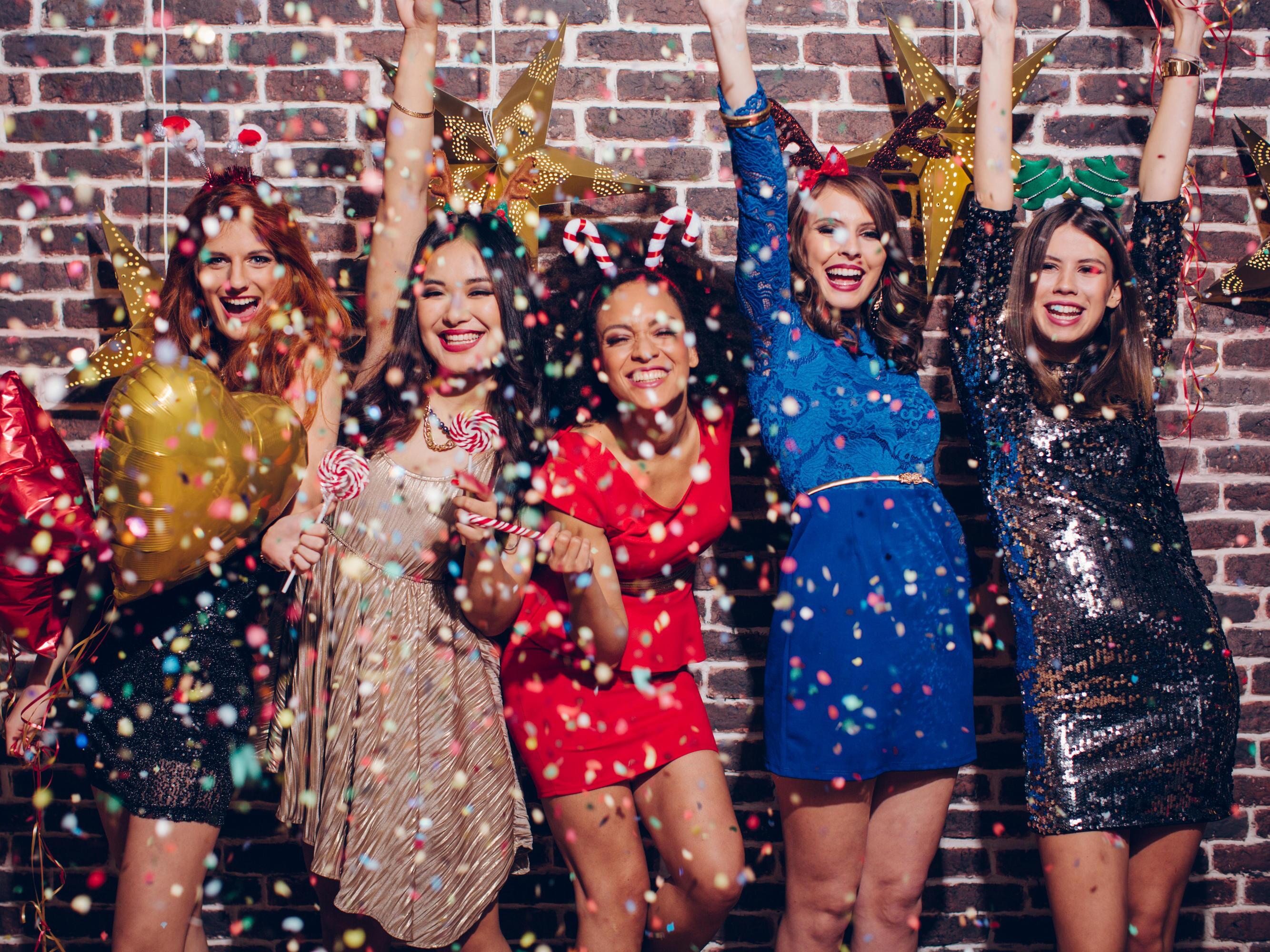silvesterparty: die schönsten damen-outfits für den