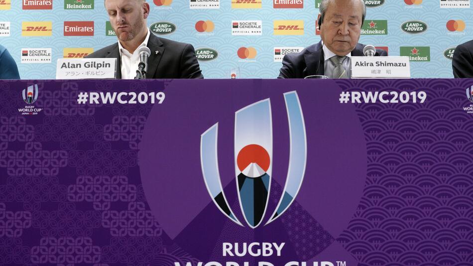 Rugby-WM - Spielabsage wegen Taifun