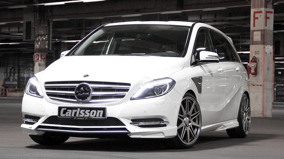 Mercedes B-Klasse mit umfangreichen Tuning-Paket von Carlsson