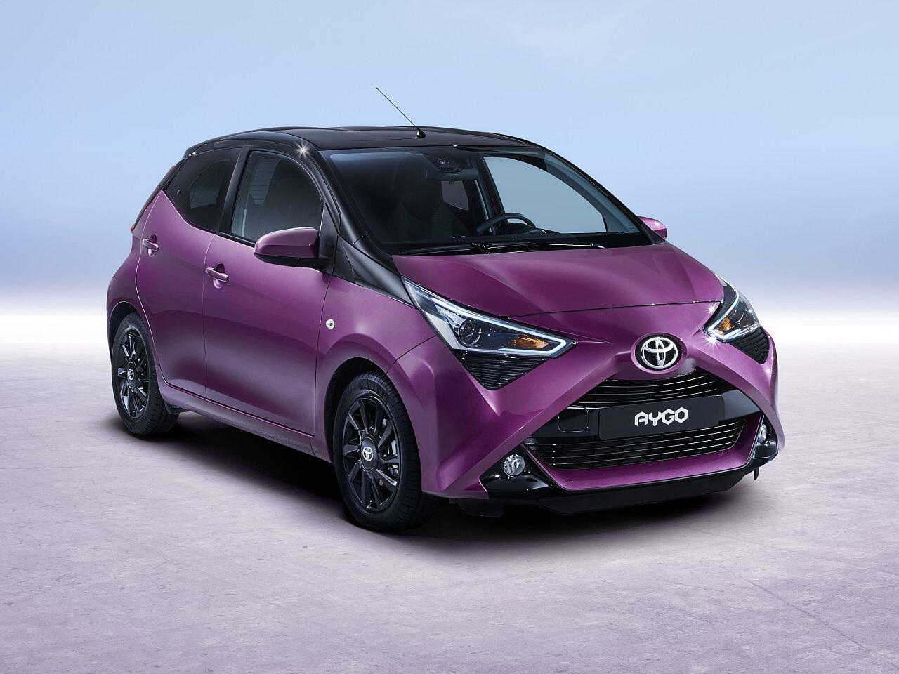 toyota aygo facelift kleinwagen wird noch individueller bunter und sicherer web de. Black Bedroom Furniture Sets. Home Design Ideas