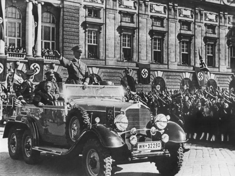Bild zu Einmarsch der deutschen Wehrmacht