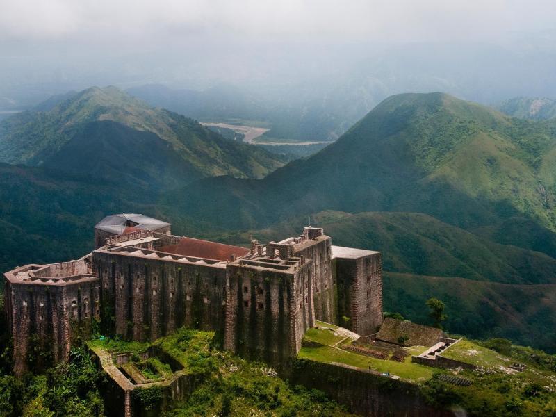Bild zu Haitis Zitadelle