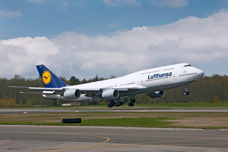 Bild zu Boeing 747 Lufthansa