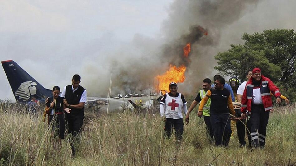 Flugzeugunglück in Mexiko endet glimpflich